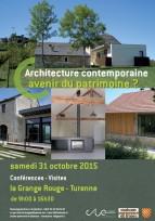 Architecture contemporaine : avenir du patrimoine ? - Turenne (19), 31 octobre
